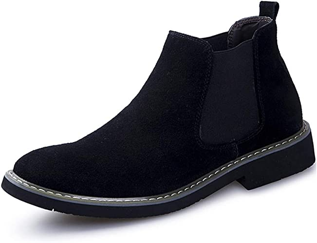 Men/'s Ankle Dress Formal Boots Fashion Casual Slip-on Chelsea Boots Shoes Size