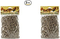 Decorative Fish Net (Color may vary) (2 pack)