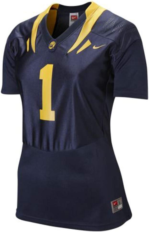 California Golden Bears Womens Replica Football Jersey - #1 Navy
