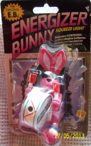 Energizer Bunny Squeeze Light (Energizer Bunny Toy)