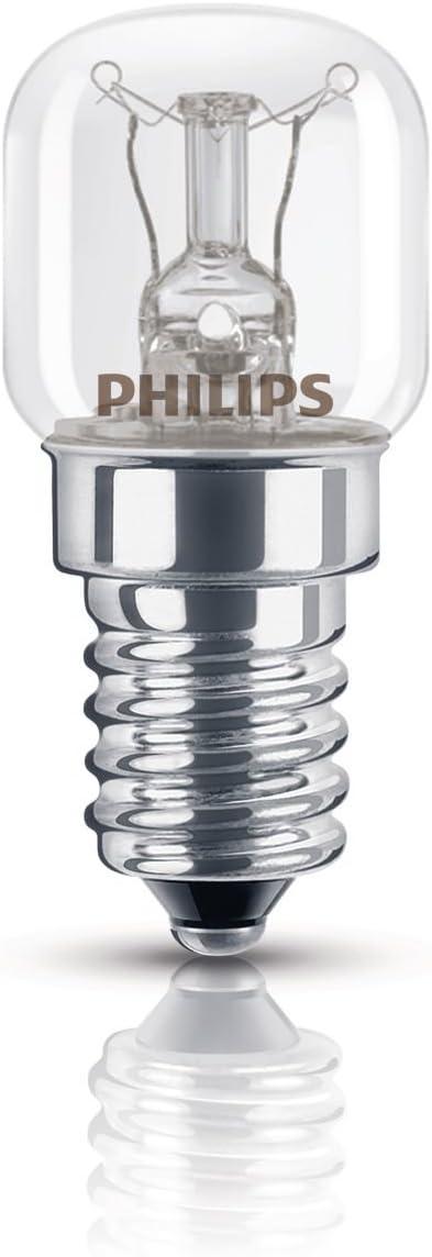 Philips Bombilla para electrodomésticos E14, bajo consumo, 15 W