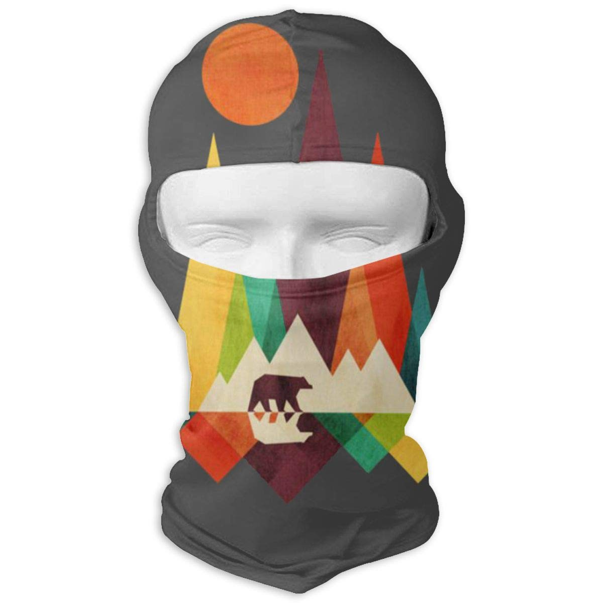 LaoJi Mountain Bear Winter Ski Mask Balaclava Hood - Wind-Resistant Face Mask