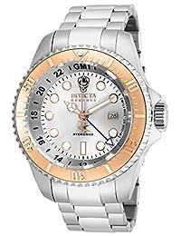 Invicta Men's 16964 Reserve Analog Display Swiss Quartz Silver Watch