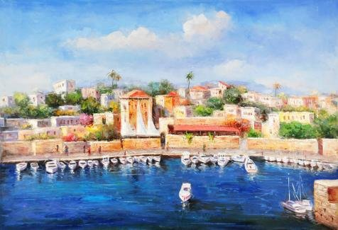 The High Quality Polyster Canvas Of Oil Painting