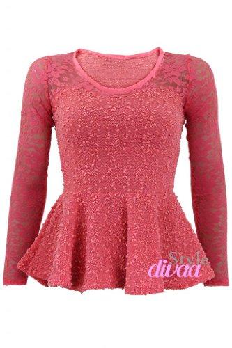 Style Divaa - Camisas - para mujer Rosa