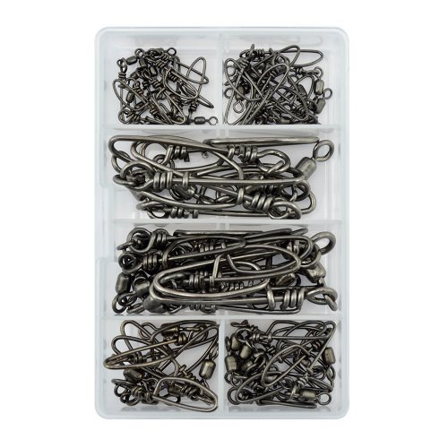 American Fishing Wire Mighty-Mini Stainless Steel Snap Swivel Kit by American Fishing Wire by American Fishing Wire