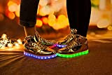 Coolloog Kids High Top 11 Colors LED Shoes USB