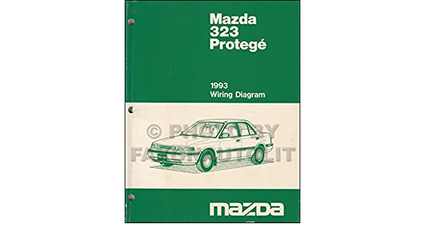 Mazda 323 1993 Wiring Diagram