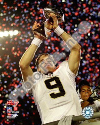 Super Bowl Trophy 8x10 Photograph - 3