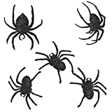 Glitter Spider Cutouts, Pack Of 9 by Grasslands Road