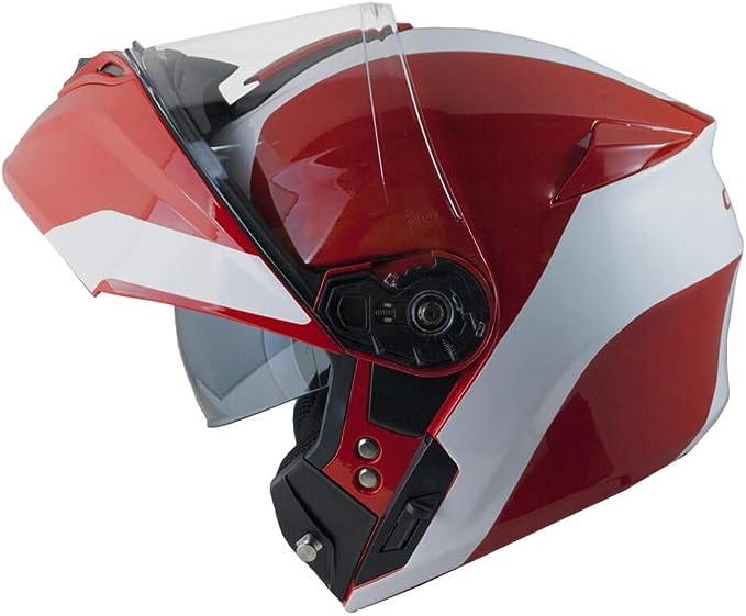 rojo L CGM Casco modular abatible P//J 508S Berl/ín Race Plegable 59cm