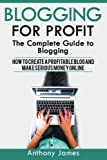 Blogging for profit: The Complete Guide to Blogging (How to Create a Profitable Blog and Make Serious Money Online)