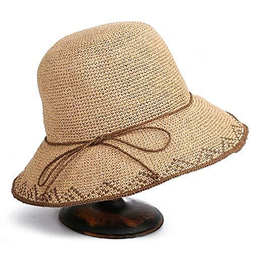 Beach Paja Sun Oudan 7 De Mujer Tamaño Ancha color Para Summer Gorra Ala 3 Sombrero Plegable wB8nP4zxBT