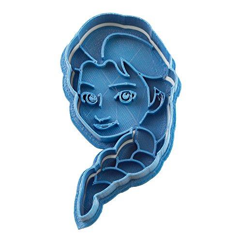 Cuticuter Frozen Elsa Cookie Cutter, Blue (Elsa Cookie Cutter)