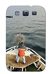 Ellent Design Ships Whales Fishing Phone Case For Galaxy S3 Premium Tpu Case For Thanksgiving Day's Gift