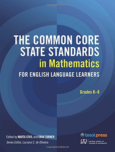 The CCSS in Mathematics for Grades K-8 pdf epub