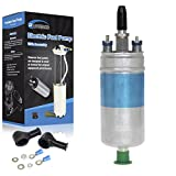 PartsSquare For Mercedes Benz CE SE SEL W126 W124 W123 Fule Pump 0580254910 w/ Install Kit
