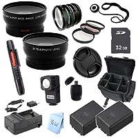 Advanced Professional Kit: for Panasonic HC-V700 Full HD Camcorder
