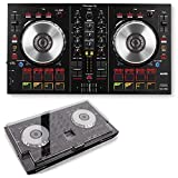 Pioneer DDJ-SB2 DJ Controller with Decksaver Cover