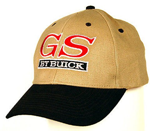 - Buick GS Men's Embroidered Hat (Khaki and Black)