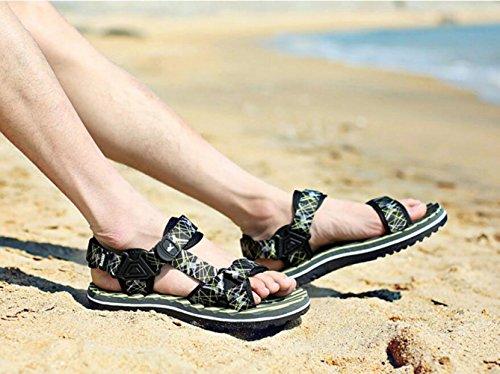 Sandali Eleganti Green Sandals Asciugatura Summer Casual Freschi Scarpe CHENGXIAOXUAN Men's Colorate Beach Traspiranti Shoes Boy Sandali Ad Rapida wAFxxq6YT