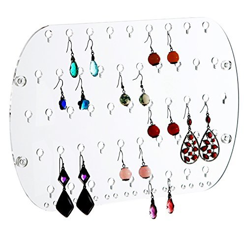 Acrylic Mounted Earring Jewelry Organizer