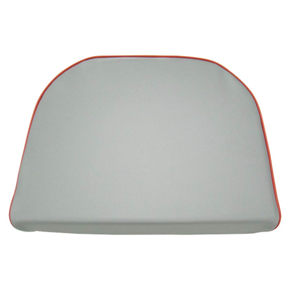 Seat Cushion Vinyl Gray with Red Trim Massey Ferguson 283 TE20 35 88 204 30 203 TO30 135 85 30E 140 235 25 250 TEA20 178 31 245 202 40 40 20C TO20 130 230 50 20 240 98 1030 20D 150 TO35 65 185 by All States Ag Parts