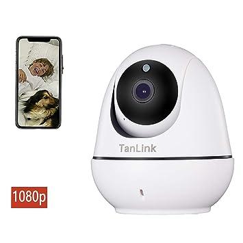 Amazon.com: Cámara de seguridad IP WiFi TanLink 1080P HD ...