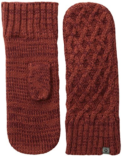 Merrell Women's Crystal Drift Mitten, One Size, Dark Rust/Zinfandel