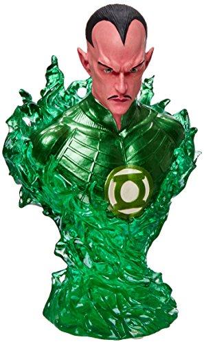 DC Direct Green Lantern (Movie): 1:4 Scale Sinestro Deluxe Bust