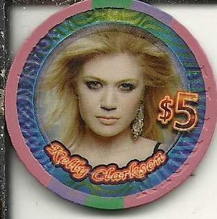 - $5 planet hollywood kelly clarkson las vegas casino chip super rare