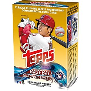 2018 Topps Baseball Update 13 Pack Exclusive Value Box Baseball Wax Packs
