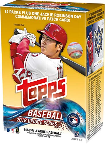 Used 2018 Topps Baseball Update 12 Pack Exclusive