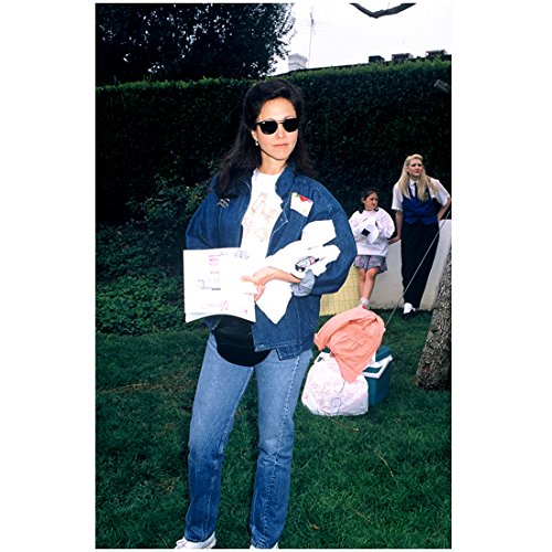 Erin Gray 8 Inch x 10 Inch photograph Silver Spoons Buck Rogers in the 25th Century Jason Goes to Hell: The Final Friday Wearing Jean Jacket & Sunglasses - Friday Sunglasses