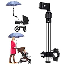 Useful Adjustable Umbrella Stretch Stand Holder Plastic Stroller Accessory Baby Stroller Pram Umbrella Stretch Stand Holder For Wheelchair Bike