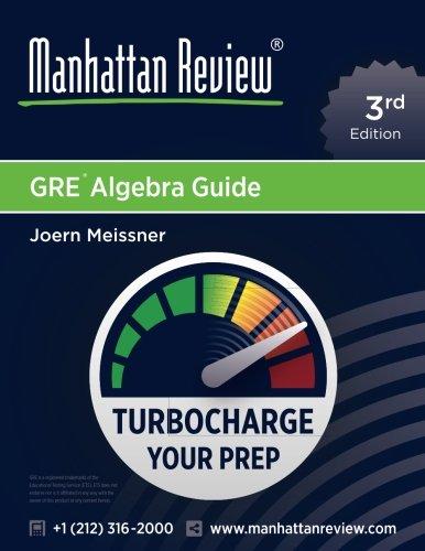 Manhattan Review GRE Algebra Guide [3rd Edition]: Turbocharge Your Prep
