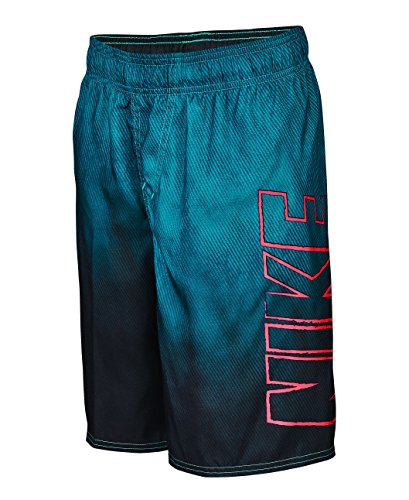 Nike Boy's Cannon Ball Volley Swim Trunks S Energy