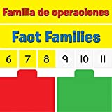 Really Good Stuff Multiplication And Division Fact Families Pocket Chart Cards Refill