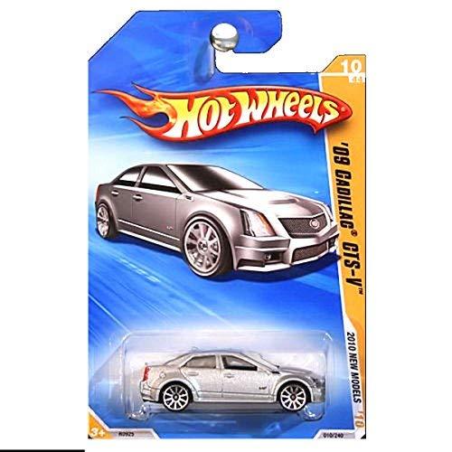 Hot Wheels 2010 New Models 2009 Cadillac CTS-V CTSV CTS Silver