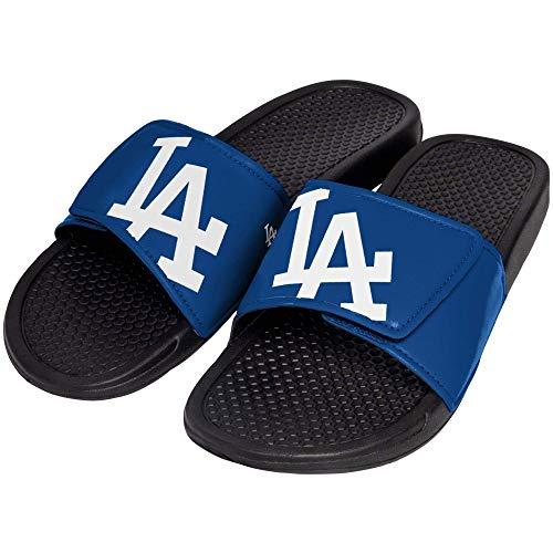 FOCO MLB Los Angeles Dodgers Unisex Big Logo Slide-Big Logo Slde, Los Angeles Dodgers, Extra Large