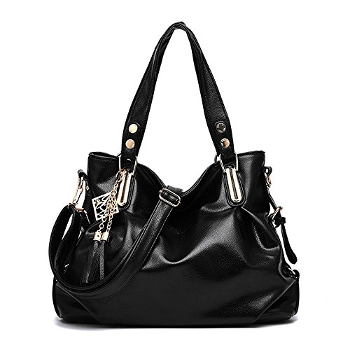 Black Y Lady'S Simple Gwqgz Handbag Negro Es Elegante La Nueva WYnWqHcAz