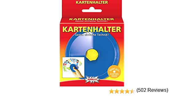 Amigo 04921 – Portatarjetas de Cartas, Color Azul: Amazon.es: Juguetes y juegos