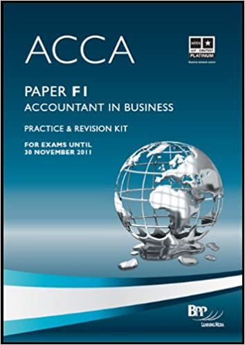 DOWNLOAD: ACCA F1 REVISION KIT