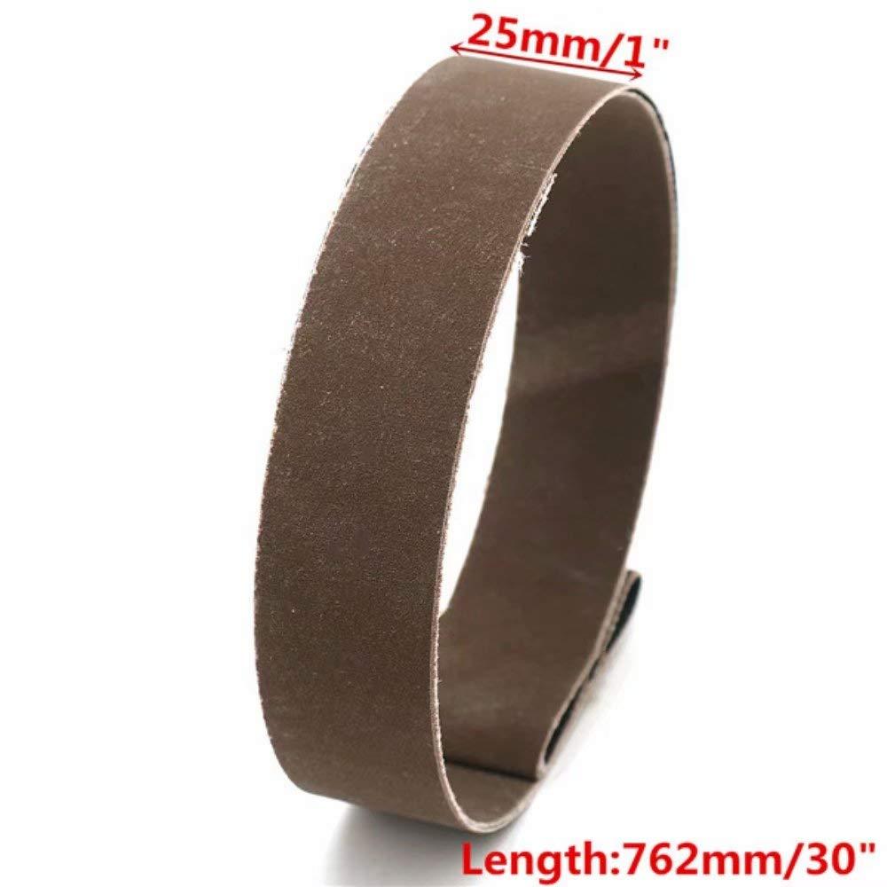 Lifreer 15pcs 25x762mm Cinghie abrasive 600//800//1000 Cinghie abrasive allossido di alluminio