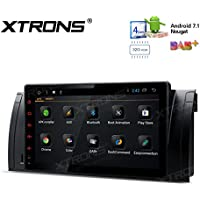XTRONS HDMI Android 7.1 Quad Core 9 Inch 2G RAM 32G ROM HD Digital Multi Touch Screen Car Stereo Radio Player GPS OBD2 for BMW X5 E53