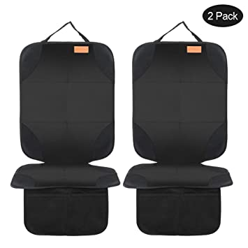 Amazon.com: Smart Elf - Protector de asiento de coche, 2 ...