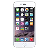 Apple iPhone 6 PLUS (5.5-inch) 128GB Unlocked Smartphone for all GSM Carriers Worldwide - Silver (Renewed)