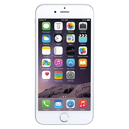 Apple iPhone 6 Plus, GSM Unlocked, 64GB - Silver (Renewed) (Price Of A Used Iphone 6 Plus)
