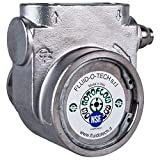 Fluid-o-Tech Stainless Steel Rotary Vane Pump 320