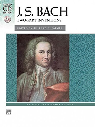 Bach -- Two-Part Inventions: Book & CD (Alfred Masterwork CD Edition) by Alfred